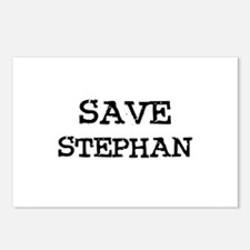 Save Stephan Postcards (Package of 8)