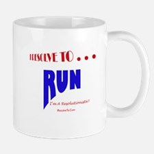 Cool New year resolutions Mug