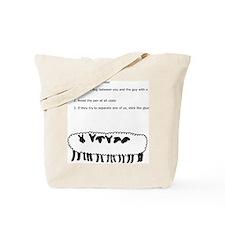 Sheep Conspiracy Tote Bag