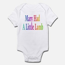 Mary had a little lamb Infant Bodysuit