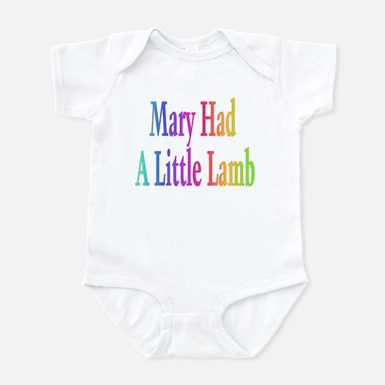 Mary had a little lamb Infant Bodysuit