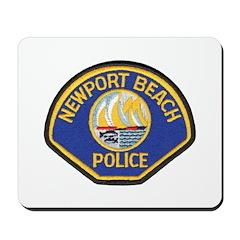 Newport Beach Police Mousepad