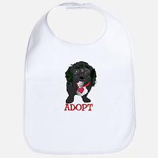 Adopt a Dog 1 Bib