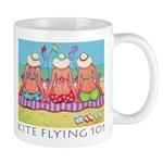 Kite Flying 101 Beach Mug