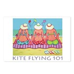 Kite Flying 101 Beach Postcards (Package of 8)
