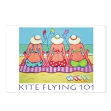 Kite Flying 101 Beach Postcards (Package of 8)