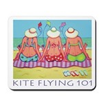 Kite Flying 101 Beach Mousepad