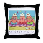 Kite Flying 101 Beach Throw Pillow