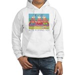 Kite Flying 101 Beach Hooded Sweatshirt