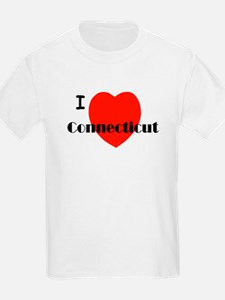 I Love Connecticut! T-Shirt