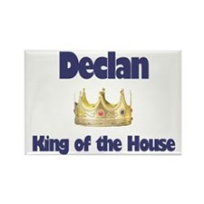 Declan - King of the House Rectangle Magnet