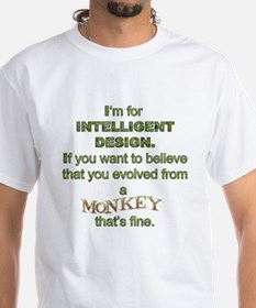 Intelligent Design Monkey Shirt