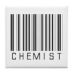 Chemist Barcode Tile Coaster