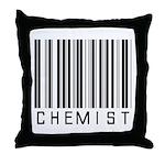 Chemist Barcode Throw Pillow
