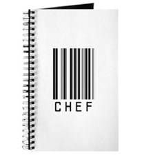 Chef Barcode Journal