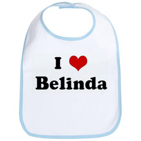 I Love Belinda Bib