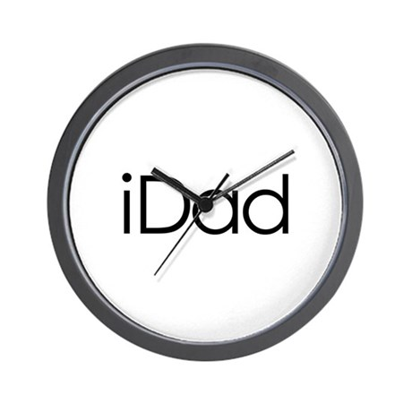 iDad Wall Clock