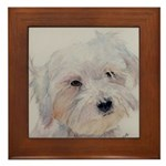 Framed Tile Maltese