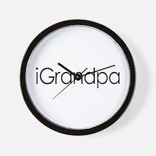 iGrandpa Wall Clock
