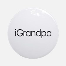 iGrandpa Ornament (Round)