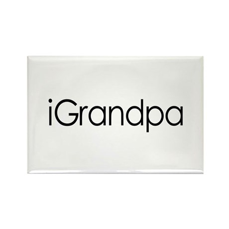 iGrandpa Rectangle Magnet