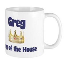 Greg - King of the House Mug