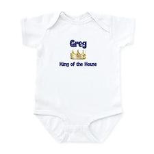 Greg - King of the House Infant Bodysuit