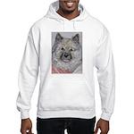 Hooded Sweatshirt Keeshond
