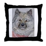 Throw Pillow Keeshond