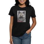 Women's Dark T-Shirt Keeshond