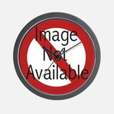 Image not Available Wall Clock
