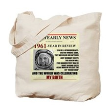 born in 1961 birthday gift Tote Bag
