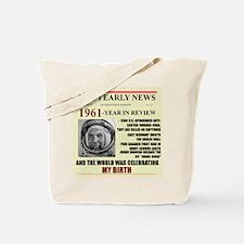 born in 1961 birthday gift Tote Bag