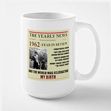 born in 1962 birthday gift Mug