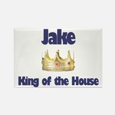 Jake - King of the House Rectangle Magnet
