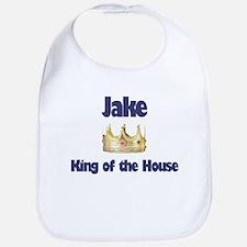 Jake - King of the House Bib