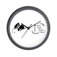The Rat Wall Clock