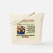 born in 1963 birthday gift Tote Bag