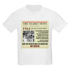 born in 1964 birthday gift T-Shirt
