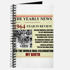 born in 1964 birthday gift Journal