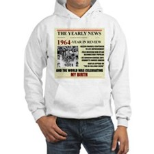 born in 1964 birthday gift Hoodie