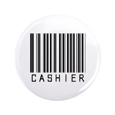 "Cashier Barcode 3.5"" Button (100 pack)"
