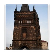 Charles Bridge -Prague, Czech Tile Coaster