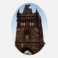 Charles Bridge -Prague, Czech Oval Ornament