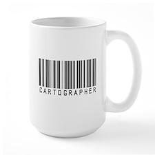 Cartographer Barcode Mug