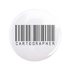 """Cartographer Barcode 3.5"""" Button (100 pack)"""