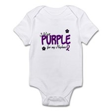 I Wear Purple For My Nephew 14 Infant Bodysuit