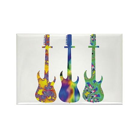 Guitar Trio Rectangle Magnet (100 pack)