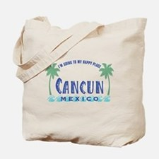 Cancun Happy Place - Tote or Beach Bag