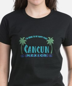 Cancun Happy Place - Tee